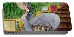 Nature Channel- Red Shouldered Hawk Portable Battery Charger
