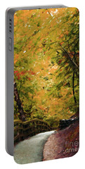 Portable Battery Charger featuring the photograph Nature In Oil  by Deniece Platt