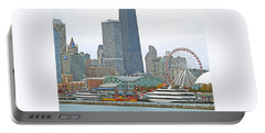 Navy Pier And Vicinity Portable Battery Charger