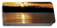 Portable Battery Charger featuring the photograph Nebraska Sunset by Elizabeth Winter