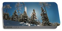 New Fallen Snow Portable Battery Charger