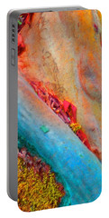 Portable Battery Charger featuring the digital art New Way by Richard Laeton