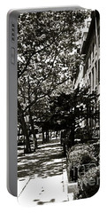 Portable Battery Charger featuring the photograph New York Sidewalk by Eric Tressler