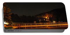 Night Bridge Portable Battery Charger by Kay Lovingood