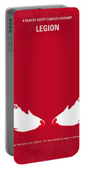 No050 My Legion Minimal Movie Poster Portable Battery Charger