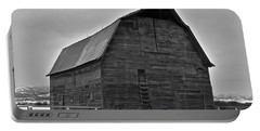 Portable Battery Charger featuring the photograph Noble Barn by Eric Tressler
