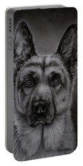 Noble - German Shepherd Dog  Portable Battery Charger