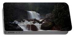 Portable Battery Charger featuring the photograph North Forks Waterfalls by Dan Friend