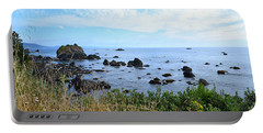 Northern California Coast2 Portable Battery Charger by Zawhaus Photography
