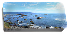 Portable Battery Charger featuring the photograph Northern California Coast3 by Zawhaus Photography