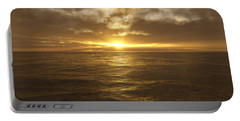 Ocean Sunset Portable Battery Charger