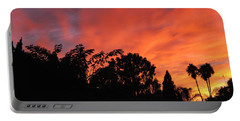 October Sunset 10 Portable Battery Charger
