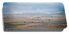 Portable Battery Charger featuring the photograph Oh Home On The Range by Cheryl Baxter