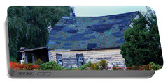 Portable Battery Charger featuring the photograph Old Barn by Davandra Cribbie