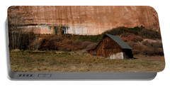 Old Barn In Angel Canyon #1  Portable Battery Charger by Nola Lee Kelsey