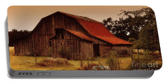 Portable Battery Charger featuring the photograph Old Barn by Lydia Holly