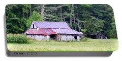 Old Barn Near Cashiers Nc Portable Battery Charger