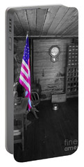 Portable Battery Charger featuring the photograph Old Glory by Deniece Platt
