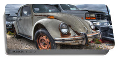 Old Vw Beetle Portable Battery Charger
