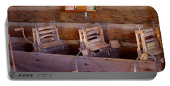 Portable Battery Charger featuring the photograph Old West 2 by Deniece Platt