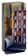 Portable Battery Charger featuring the photograph Old West 6 by Deniece Platt