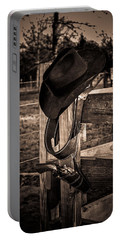 Old West Portable Battery Charger by Doug Long