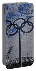 Olympic Stadium Montreal Portable Battery Charger