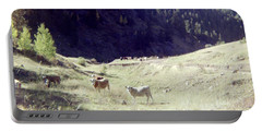 Portable Battery Charger featuring the photograph Open Range by Bonfire Photography