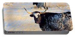 Portable Battery Charger featuring the photograph Open Range by Jim Garrison