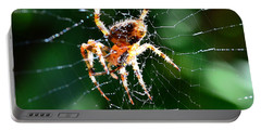 Orb Weaver And Lunch Portable Battery Charger