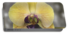 Orchid Study IIi Portable Battery Charger by Patricia Griffin Brett