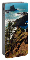 Oregon Coast Portable Battery Charger by Athena Mckinzie