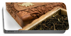 Ornate Box With Darjeeling Tea Portable Battery Charger