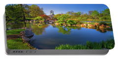 Osaka Garden Pond Portable Battery Charger