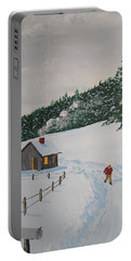 Out To Get The Mail Portable Battery Charger by Norm Starks