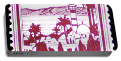 Palestine Vintage Postage Stamp Portable Battery Charger