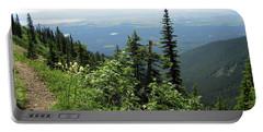 Panoramic Jewel Basin Montana Portable Battery Charger