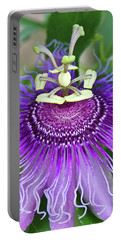 Portable Battery Charger featuring the photograph Passion Flower by Albert Seger