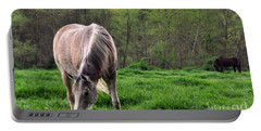 Peaceful Pasture Portable Battery Charger by Lydia Holly