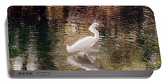 Portable Battery Charger featuring the photograph Peaceful Waters by Lydia Holly