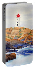 Peggy's Cove Portable Battery Charger by Laurel Best