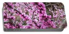 Portable Battery Charger featuring the photograph Pink Flower by Andrea Anderegg