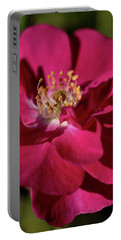 Portable Battery Charger featuring the photograph Pink Of Rose by Joy Watson