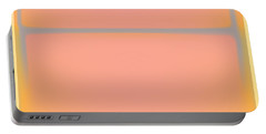 Pink Yellow And Grey Portable Battery Charger