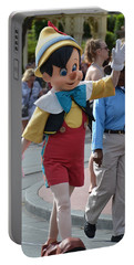 Pinocchio Portable Battery Charger by Bonnie Myszka