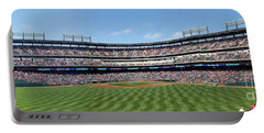 Globe Life Park, Home Of The Texas Rangers Portable Battery Charger