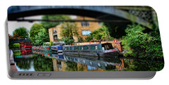 Playing With Canal Boats Portable Battery Charger