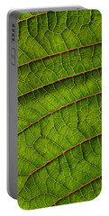 Poinsettia Leaf II Portable Battery Charger