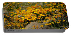 Poppies Everywhere Portable Battery Charger by Vicki Pelham