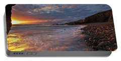Portable Battery Charger featuring the photograph Porth Swtan Cove by Beverly Cash